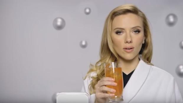 Anuncio de Sodastream en el que aparece Scarlett Johansson y que fue prohíbido