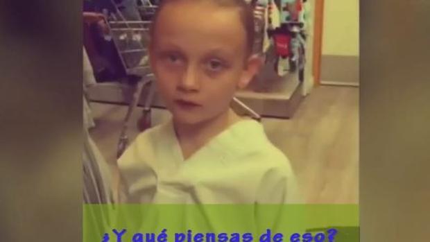 Facebook:  La niña de ocho años que se ha hecho viral por sus críticas al sexismo en la moda