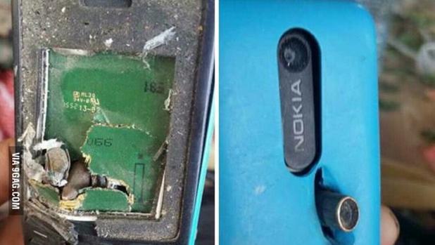 El Nokia 301 que salvó la vida de una persona en Afganistán