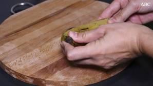 Cómo pelar la fruta de forma rápida y limpia