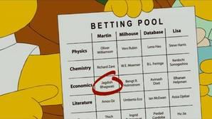 «Los Simpsons» ya predijeron en 2010 los Nobel de Economía y Química de este año