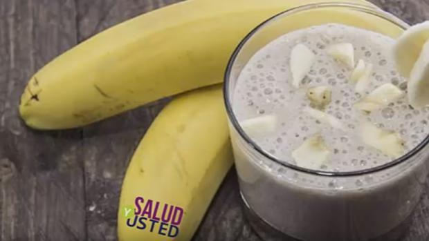 Plátano con piñ, la receta para adelgazasr