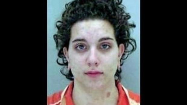 Crystal Brooke cuando fue arrestado