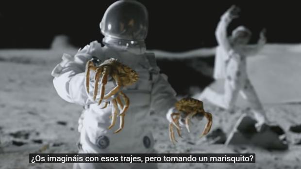 Captura del vídeo de YouTube que habla sobre los gallegos
