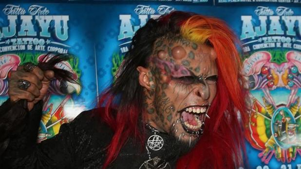 Caim Mortis, más conocido como «El Diablo» tiene rasgos de animal