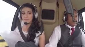 Una novia y su hermano mueren en un accidente de helicóptero camino a la boda