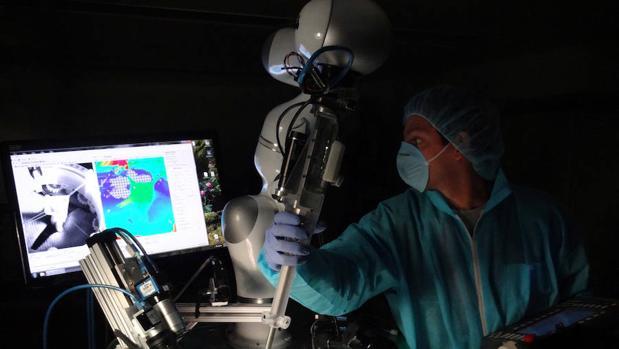 Operación robotica