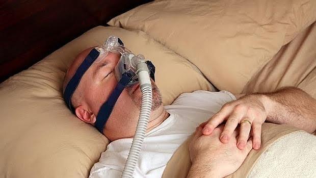 Paciente con apnea obstructiva del sueño