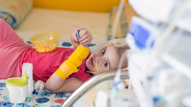 Paciente oncológico durante el tratamiento