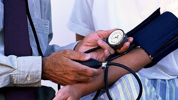 Medición de la presión sanguínea