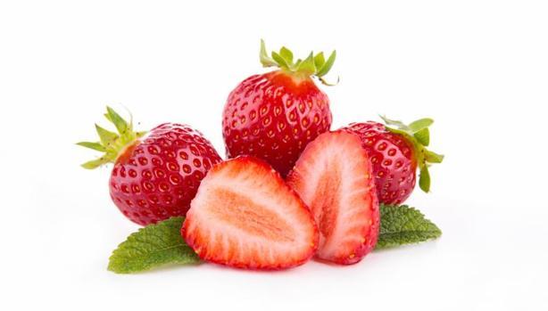 Las fresas y los fresones son una fruta típica de la dieta en primavera