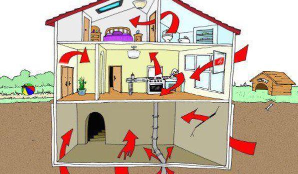 El radón es un gas natural radiactivo que se acumula en el interior de las viviendas