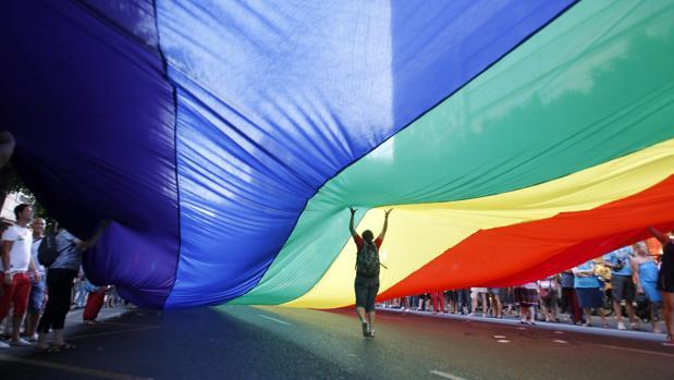 Manfiestación del Orgullo gay, lésbico, transexual y bisexual celebrada en Valencia
