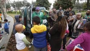 Jorge Morillo pide tres autobuses para llevar a la playa a niños en exclusión