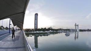 El parque Magallanes, junto a Torre Sevilla, tendrá una pérgola de casi 300 metros de longitud
