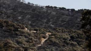 Pedirán que el terreno quemado en El Castillo de las Guardas sea declarado «zona catastrófica»