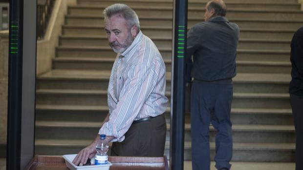 José Juan López, en una de sus comperecencias en los juzgados