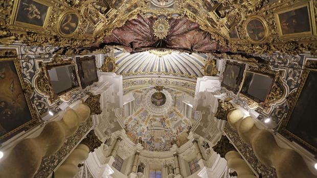 San Luis de los Franceses luce ya como joya del barroco sevillano