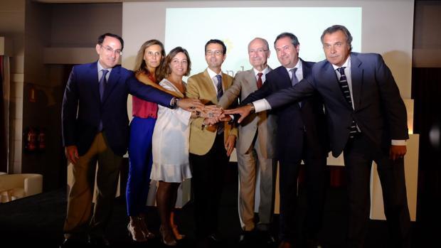 Alcaldes de Sevilla, Málaga Granada y Córdoba, juntos