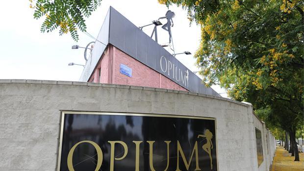 Club de alterne Ópium, en el polígono Store de Sevilla