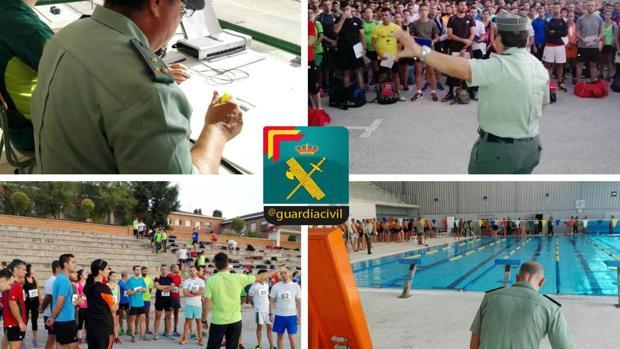 Pruebas físicas realizadas en Valdemoro esta semana