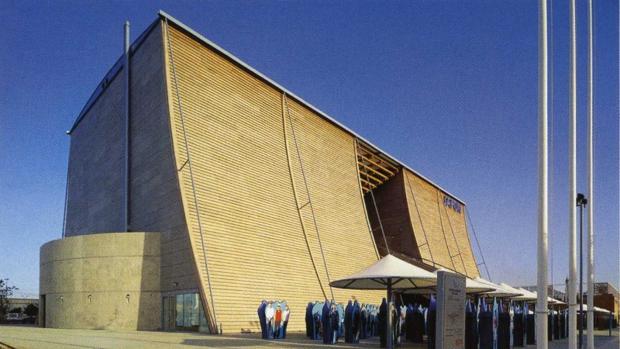 El Pabellón de Japón en la Expo92