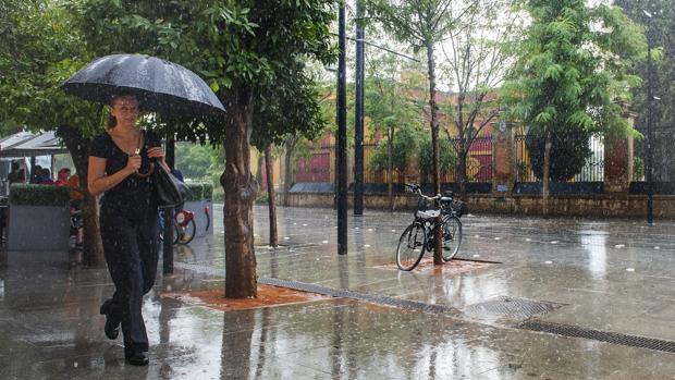 Sevilla pasa de las altas temperaturas a la alerta por lluvias