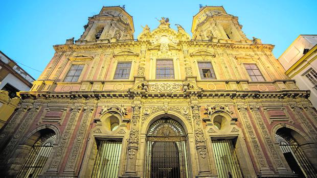 Fachada de San Luis de los Franceses