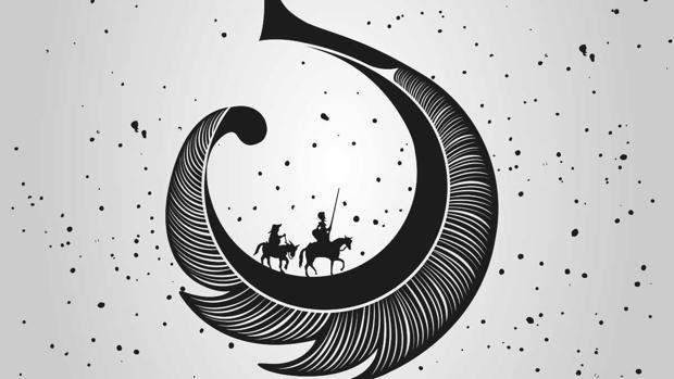 Cervantes protagoniza el cartel de la nueva edición de la Noche en Blanco
