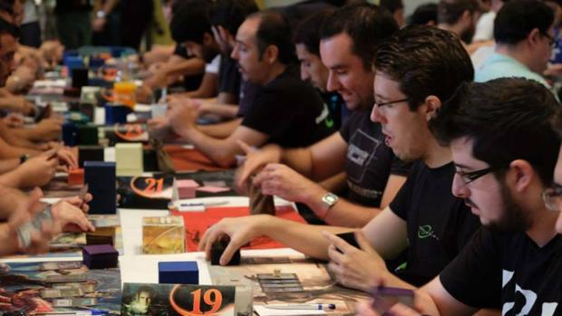 Algunos participantes del Full Magic Weekend, en la edición del año pasado