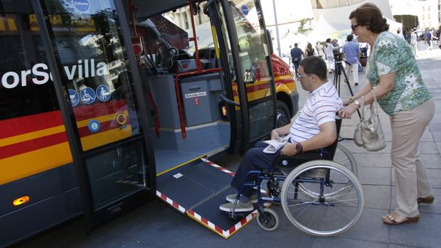 Los nuevos microbuses están adaptados para personas de movilidad reducida