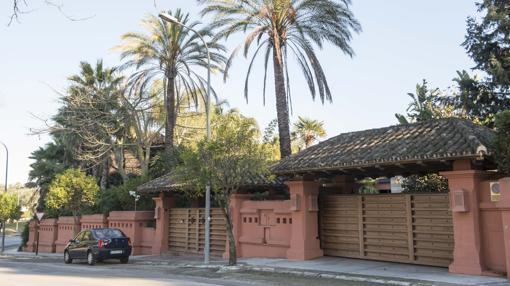 Chalé de La Motilla donde Luis Portillo tenía su residencia familiar