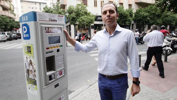 Javier Millán, portavoz de Ciudadanos