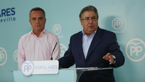 Juan Ignacio Zoido y Juan Bueno se reunen con representantes de Fadeco