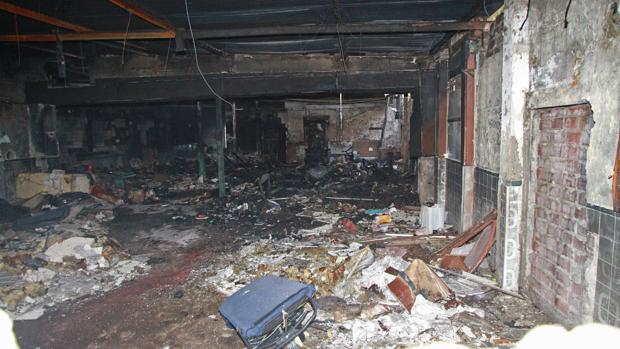 La autopsia no determina de qué murió la persona hallada en el incendio del Parque Amate