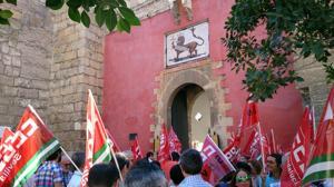 Los trabajadores del Alcázar se plantan y no harán más horas extras fuera del horario oficial