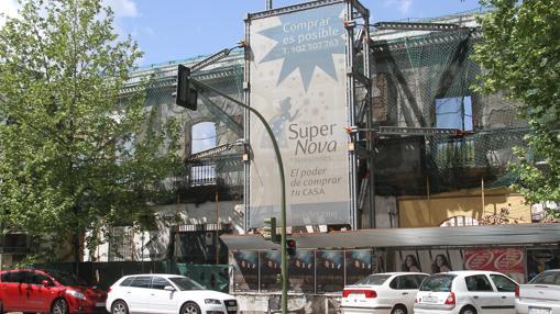 Novaindes, anterior propietario del solar, se declaró en concurso en 2010