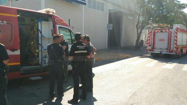 La Policía y los Bomberos han actuado en la zona
