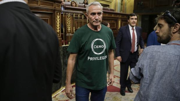 Cañamero pide que se pueda cobrar el subsidio agrario sin peonadas