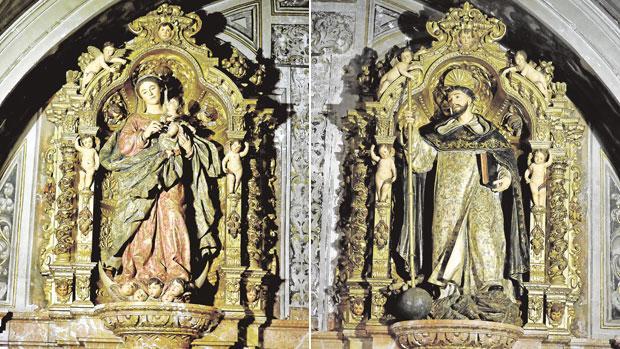 La parroquia de la Magdalena devuelve el esplendor a su patrimonio artístico