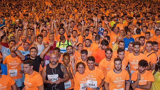 Edición de 2015 de la «Nocturna del Guadalquivir»