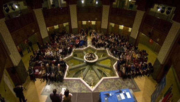 Celebración del Jánuca 2013 en la Fundación Tres Culturas