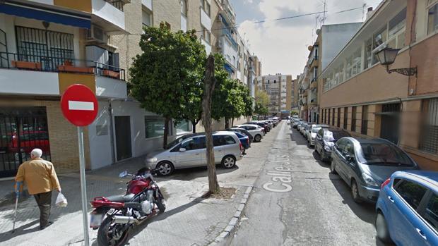 La calle Justino Matute