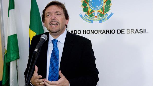 Ballesteros, en una comparecencia como cónsul de Brasil