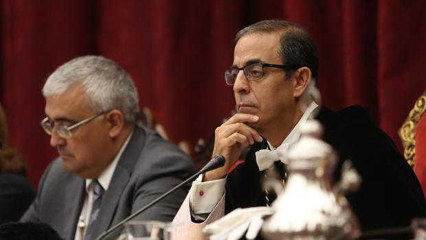 Miguel Ángel Castro, rector de la Hispalense