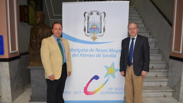 Manuel Sainz y Alberto Máximo Pérez Calero