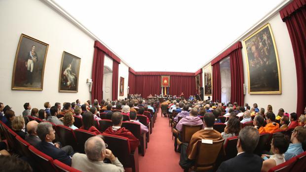 Apertura del curso en la Universidad de Sevilla