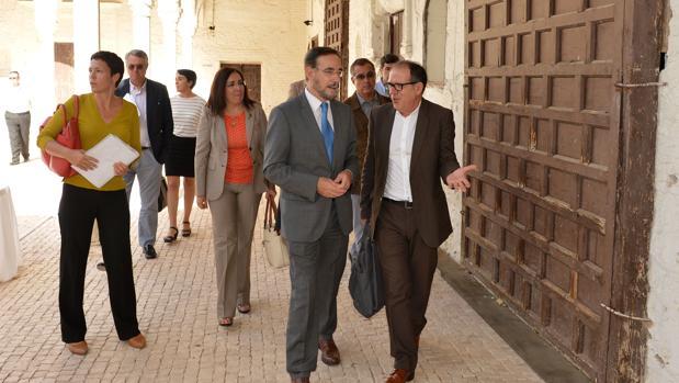 El consejero Felipe López ha inaugurado las instalaciones restauradas