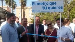 El PP inicia la campaña para reivindicar una red completa de metro en Sevilla