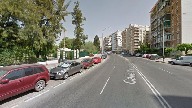 La calle Virgen de la Oliva
